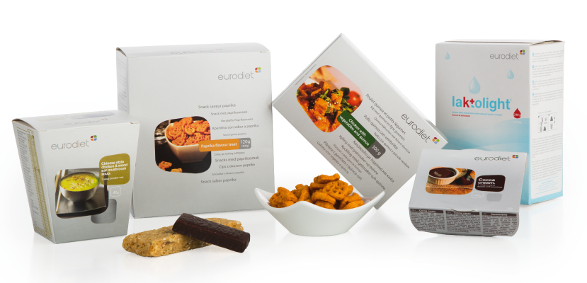A broad range of low carb. products with a high fibre and protein content and a low glycaemic index.